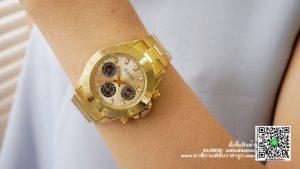 นาฬิกา Julius JA-796 สายสแตนเลส สีทอง ผู้หญิง รุ่นใหม่ มีบริการเก็บเงินปลายทาง