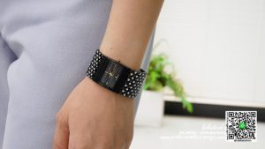นาฬิกา Julius JA 435 หน้าปัดเหลี่ยม ผู้หญิง สายเก๋ ๆ ดำ รุ่นแนะนำ ของแท้ส่งฟรี มีบริการเก็บเงินปลายทาง