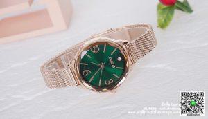 นาฬิกา Julius JA-1210 รุ่นใหม่ล่าสุด สีพิ้งโกล