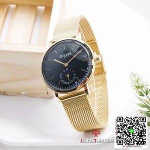นาฬิกา Julius JA-1065 สายสแตนเลส สีทอง สวยๆ ของเเท้ ส่งฟรี มีบริการเก็บเงินปลายทาง